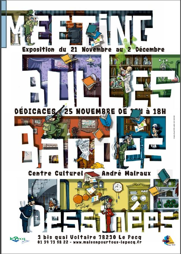 Affiche Meeting BULLES